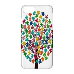 Tree Share Pieces Of The Puzzle Apple Iphone 8 Hardshell Case by Simbadda