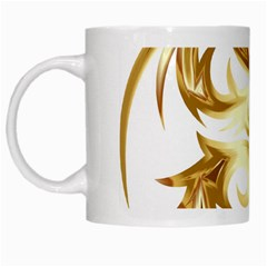 Dragon Animal Beast Creature White Mugs by Simbadda