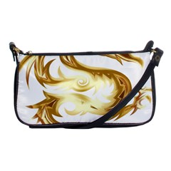 Dragon Animal Beast Creature Shoulder Clutch Bags by Simbadda