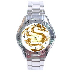 Dragon Animal Beast Creature Stainless Steel Analogue Watch by Simbadda