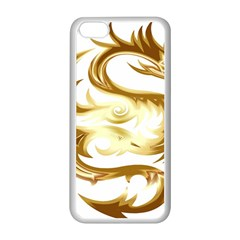 Dragon Animal Beast Creature Apple Iphone 5c Seamless Case (white)