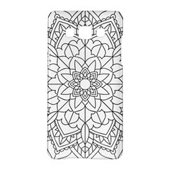 Floral Flower Mandala Decorative Samsung Galaxy A5 Hardshell Case