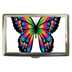 Abstract Animal Art Butterfly Cigarette Money Cases