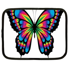 Abstract Animal Art Butterfly Netbook Case (xl)