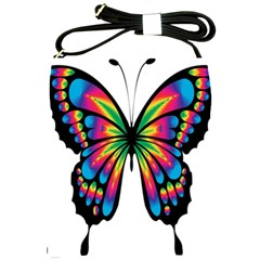Abstract Animal Art Butterfly Shoulder Sling Bags