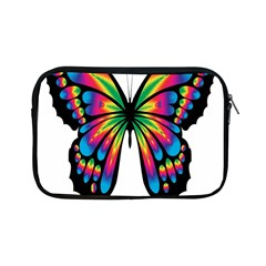Abstract Animal Art Butterfly Apple Ipad Mini Zipper Cases by Simbadda
