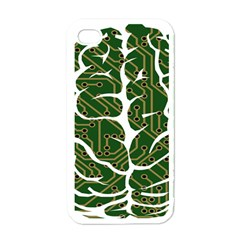 Circuit Anatomy Apple Iphone 4 Case (white)