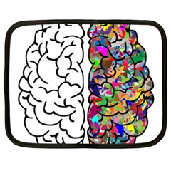 Brain Mind Anatomy Netbook Case (xxl)