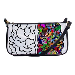 Brain Mind Anatomy Shoulder Clutch Bags by Simbadda