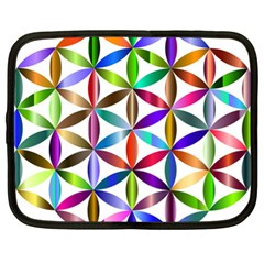 Flower Of Life Sacred Geometry Netbook Case (xl)