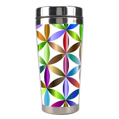 Flower Of Life Sacred Geometry Stainless Steel Travel Tumblers by Simbadda