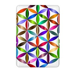 Flower Of Life Sacred Geometry Samsung Galaxy Tab 2 (10 1 ) P5100 Hardshell Case
