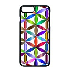 Flower Of Life Sacred Geometry Apple Iphone 7 Plus Seamless Case (black) by Simbadda