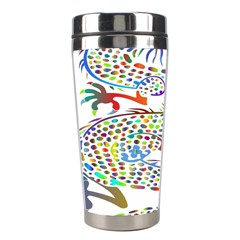 Dragon Asian Mythical Colorful Stainless Steel Travel Tumblers by Simbadda