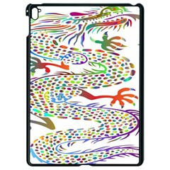 Dragon Asian Mythical Colorful Apple Ipad Pro 9 7   Black Seamless Case