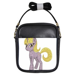 Unicorn Narwhal Mythical One Horned Girls Sling Bags