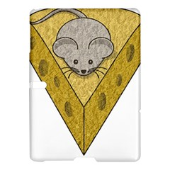 Cheese Rat Mouse Mice Food Cheesy Samsung Galaxy Tab S (10 5 ) Hardshell Case