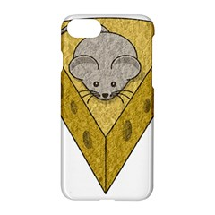 Cheese Rat Mouse Mice Food Cheesy Apple Iphone 7 Hardshell Case by Simbadda