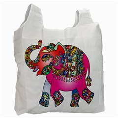 Elephant Pachyderm Animal Recycle Bag (one Side)