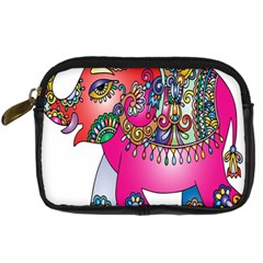 Elephant Pachyderm Animal Digital Camera Cases by Simbadda