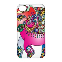 Elephant Pachyderm Animal Apple Iphone 4/4s Hardshell Case With Stand