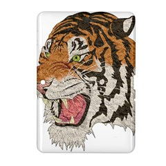 Tiger Tiger Png Lion Animal Samsung Galaxy Tab 2 (10 1 ) P5100 Hardshell Case