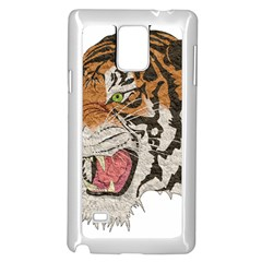Tiger Tiger Png Lion Animal Samsung Galaxy Note 4 Case (white) by Simbadda