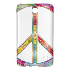 Flourish Decorative Peace Sign Samsung Galaxy Tab 4 (8 ) Hardshell Case