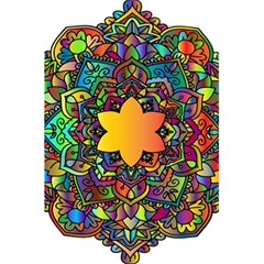 Mandala Floral Flower Abstract 5 5  X 8 5  Notebooks
