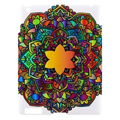 Mandala Floral Flower Abstract Apple Ipad 3/4 Hardshell Case