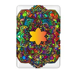 Mandala Floral Flower Abstract Samsung Galaxy Tab 2 (10 1 ) P5100 Hardshell Case