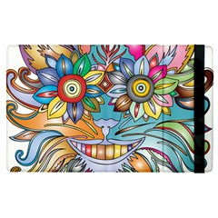 Anthropomorphic Flower Floral Plant Apple Ipad Pro 9 7   Flip Case by Simbadda