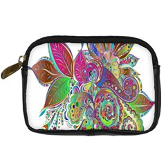 Floral Flowers Ornamental Digital Camera Cases by Simbadda