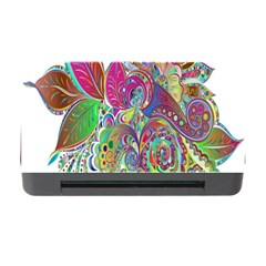 Floral Flowers Ornamental Memory Card Reader With Cf by Simbadda