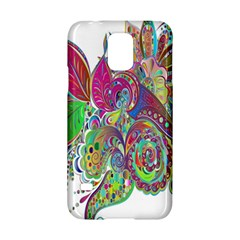 Floral Flowers Ornamental Samsung Galaxy S5 Hardshell Case  by Simbadda