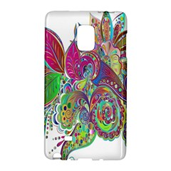 Floral Flowers Ornamental Galaxy Note Edge