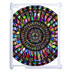 Mandala Decorative Ornamental Apple Ipad 2 Case (white) by Simbadda