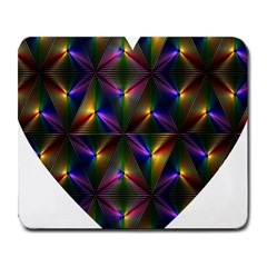 Heart Love Passion Abstract Art Large Mousepads