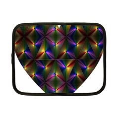 Heart Love Passion Abstract Art Netbook Case (small)  by Simbadda