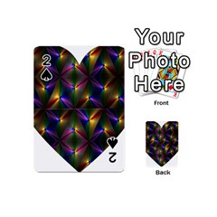 Heart Love Passion Abstract Art Playing Cards 54 (mini)