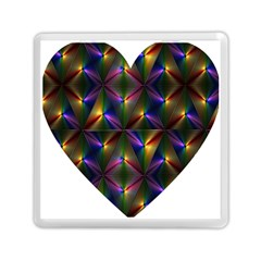 Heart Love Passion Abstract Art Memory Card Reader (square)