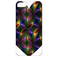 Heart Love Passion Abstract Art Apple Iphone 5 Classic Hardshell Case