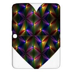 Heart Love Passion Abstract Art Samsung Galaxy Tab 3 (10 1 ) P5200 Hardshell Case