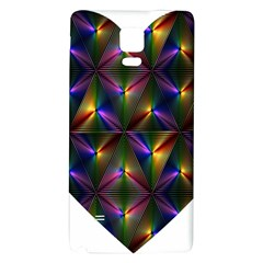 Heart Love Passion Abstract Art Galaxy Note 4 Back Case