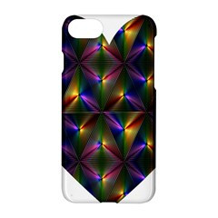 Heart Love Passion Abstract Art Apple Iphone 8 Hardshell Case by Simbadda