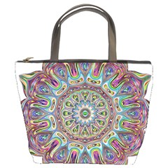 Mandala Decorative Ornamental Bucket Bags by Simbadda