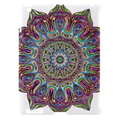 Mandala Decorative Ornamental Apple Ipad 3/4 Hardshell Case (compatible With Smart Cover) by Simbadda