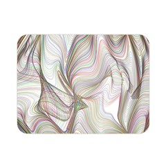 Abstract Geometric Line Art Double Sided Flano Blanket (mini)