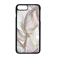 Abstract Geometric Line Art Apple Iphone 8 Plus Seamless Case (black)