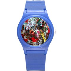 Eden Garden 6 Round Plastic Sport Watch (s) by bestdesignintheworld